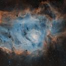 Lagoon Nebula (M8) SHO,                                jlangston_astro