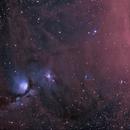 M78 and Barnards Loop - QHY600 - Esprit 150 - HaLRGB,                                Eric Walden