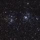 Double cluster in Perseus,                                lukfer