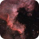 The Wall in NGC 7000,                                Skywalker83