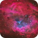 Lower's nebula (Sh2-261) in Hα-SII/OIII/OIII+rgb,                                Jose Carballada