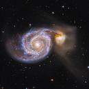 M51 LRGB,                                Liangwt