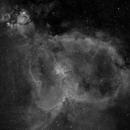 The Heart Nebula in Hydrogen-alpha,                                Kevin Dixon