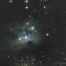 NGC 1977, The Running Man Nebula in Orion,                                Fenton
