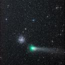 comet 21P Giacobini-Zinner and Messier 37,                                andrealuna