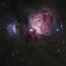 Messier 42, RGB & Ha Combined,                                 degrbi