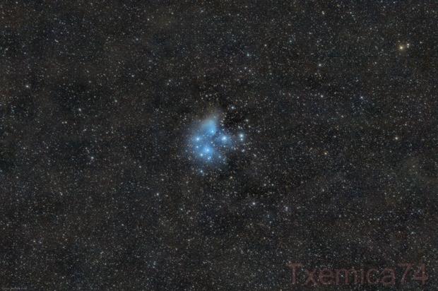 M-45 Pleiades,                                Txema Asensio