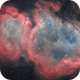IC 1848 - Soul Nebula 2019/2020 - Bicolor,                                Martin Junius