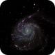 m101 (Pinwheel galaxy),                                *philippe Gilberton