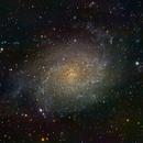 M33, Triangulum Galaxy,                                cray2mpx
