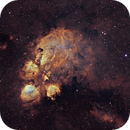 NGC6334 - Cat's Paw Nebula SHO,                                Janco