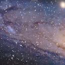 M31 Mosaic NGC206 - Work in Progress,                                jgibsonemu