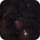 The Fourth Belt Star - Comet C/2020 M3 passing Orion,                                Brent Newton