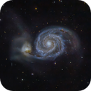 M51The  Whirlpool Galaxy,                                Gianluca Belgrado