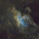 M16 Eagle Nebula,                                legova