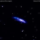 ngc4096 galassia nel carro maggiore                                       distanza 29 milioni  A.L.,                                Carlo Colombo