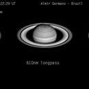 Saturn R + IR + 610 nm composite 2017 10 24 22:24 UTC,                                Almir Germano