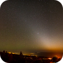 Zodiacal light Panorama Athos Star Campus,                                Alexander Voigt