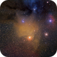 Antares and star cluster,                                Christian Dahm