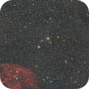 Sh2-27 Ophiuchus & Serpens wide field / Canon 100D astrodon + Canon 85mm USM f/1.8 / SW star adv mini / 1600 ISO,                                patrick cartou