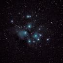 The Pleiades, M45,                                Nicholas Gialiris