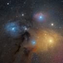 IC 4605 Rho Ophiuchi Cloud Complex 20210513 16200s LRGB 01.4.3,                                Allan Alaoui