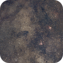 Milky Way with Swan and Eagle Nebulae,                                Ray Heinle