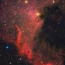 NGC 7000,                                Aniceto Porcel
