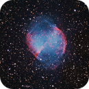M27 The Dumbbell Nebula,                                John Hayes