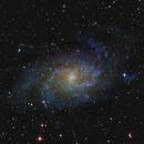M 33 - Galassia del Triangolo,                                Astrorane