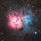 Trifid Nebula - M20 or NGC 6514,                                Martin Junius