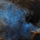NGC7000 SHO - Nebulosa Norteamerica,                                José Fco. del Agu...