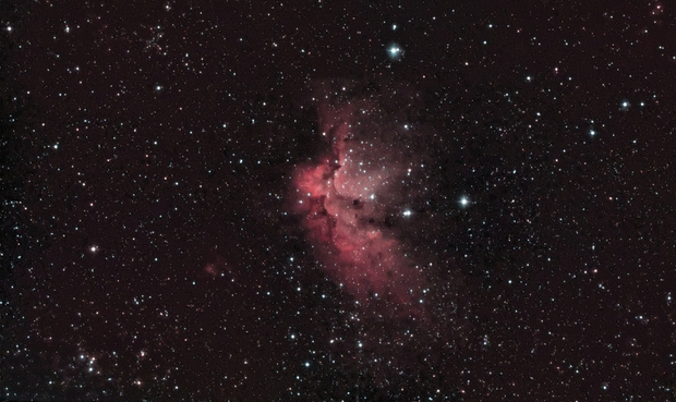 NGC 7380 - Wizard Nebula,                                8472