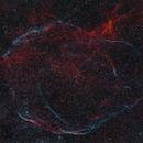 Cygnus-Loop SNR G65.3+5.7 (Sh2-91, Sh2-94, Sh2-96),                                Rolf Dietrich