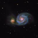 M51 Whirlpool Galaxy,                                Mathias Radl