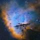The Big Smile of Pacman  - NGC281,                                Arnaud Peel