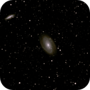 M81&M82-25APR2020-DSS-Median-Kappa-Sigma Stacked with 2x Drizzle,                                Joes-EAA