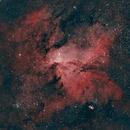NGC 6188 (The Dragons of Ara) in HOO,                                Ayrton Lopes