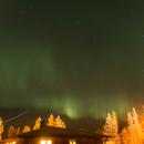Northern Lights and Geminids,                                Jochen Schuster