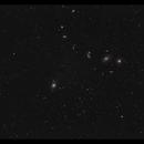 Virgo cluster with Markarian's chain in wide field,                                Göran Nilsson
