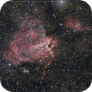 Messier 17 Omega Nebula,                                Giorgio Baj