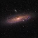 M31 - The Andromeda Galaxy,                                David McGarvey