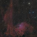 IC405 - Flaming Star Nebula - Ha(RHa)GB,                                Roberto Botero