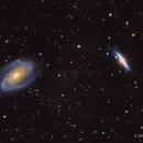M81 and M82,                                Scott