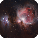 The Orion Nebula and the Running Man,                                Marcel Nowaczyk