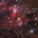 SH2-155, the Cave Nebula,                                Jari Saukkonen