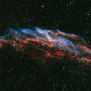 Eastern Veil Nebula (NGC 6992),                                pemag