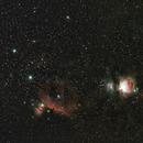 Orions Belt and M42,                                JoeRez