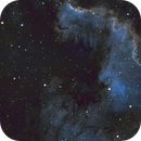 North America Nebula in SHO,                                Nirvaein