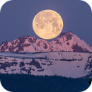 Sunrise Moonset Over Broken Top Mountain,                                Steve_Peters
